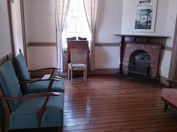 旧三笠ホテル、客室