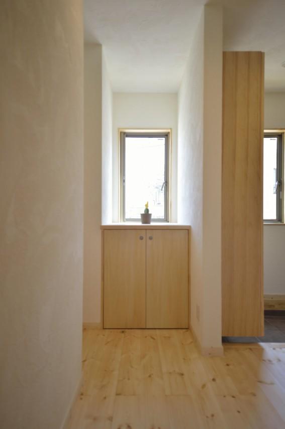 自然素材の家のメンテナンス、壁