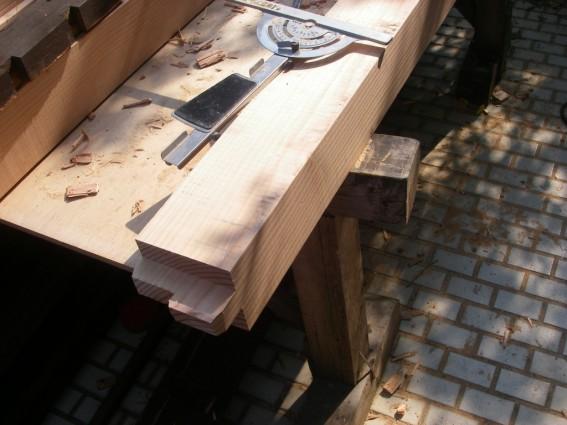 木材加工,手刻み