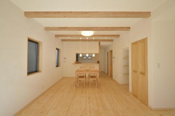 一点ものの床と塗り壁