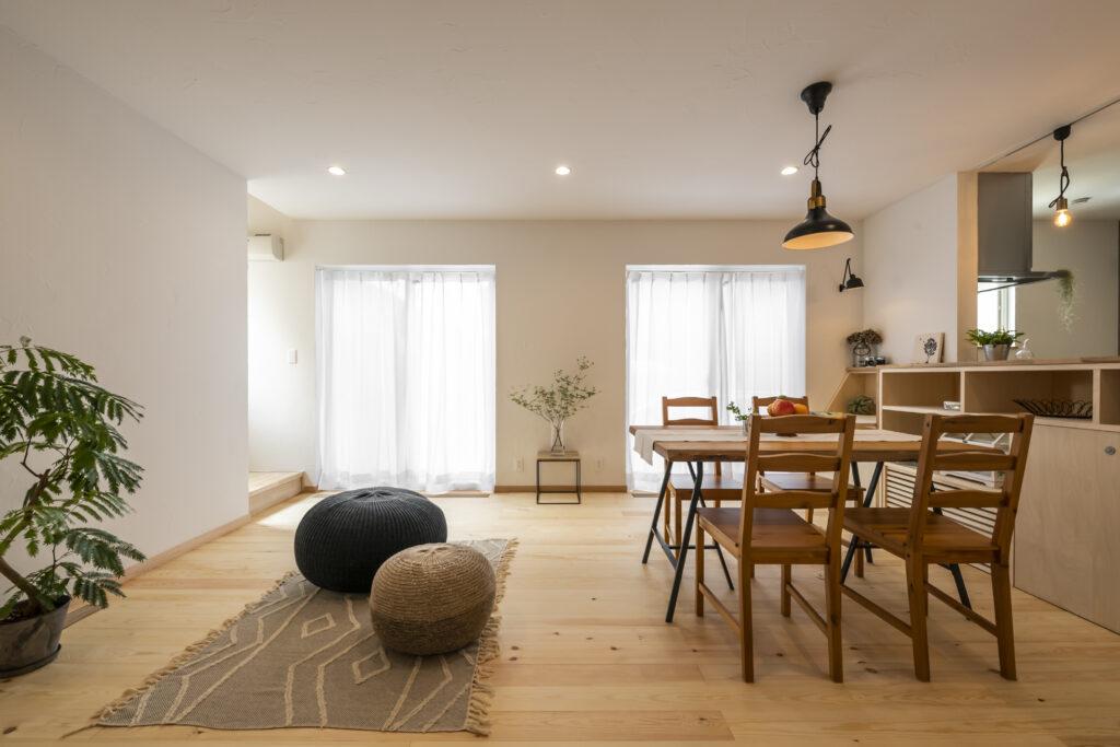 八王子の大久保工務店が建てた小屋裏エアコンと床下エアコンの注文住宅の事例