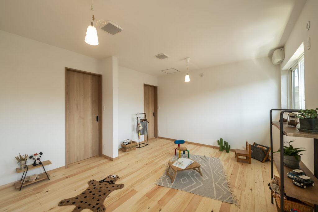 多摩地区で家づくりをしている大久保工務店の子供部屋の注文住宅事例