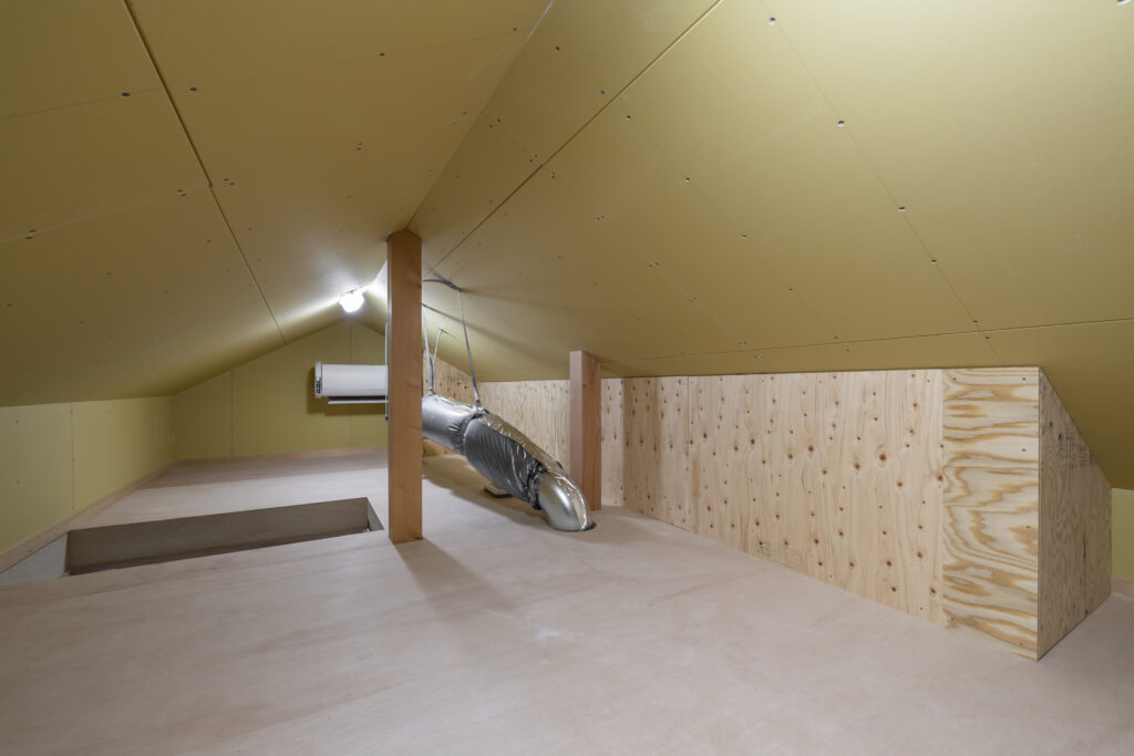 高性能な小屋裏エアコンの注文住宅